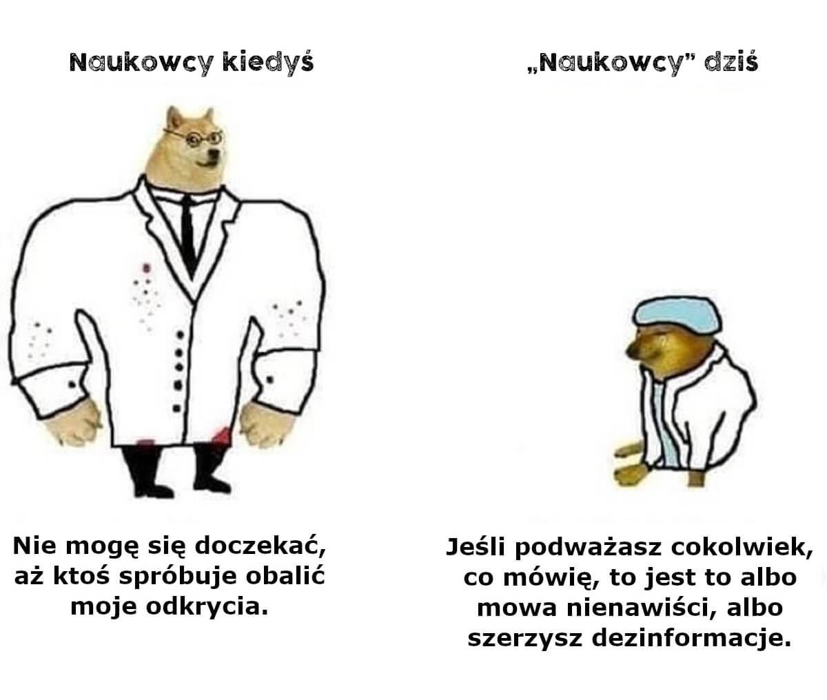 Naukowcy dawniej i dziś