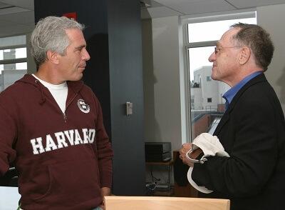 Jeffrey Epstein i jego dawny prawnik, Alan M. Dershowitz.