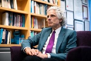 Steven Pinker z Harvardu był jednym z luminarzy nauki, którzy spotkali się z Epsteinem.