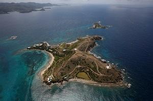 Wyspa Epsteina na Wyspach Dziewiczych Stanów Zjednoczonych.